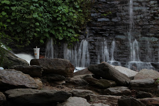 Waterfall and Cup